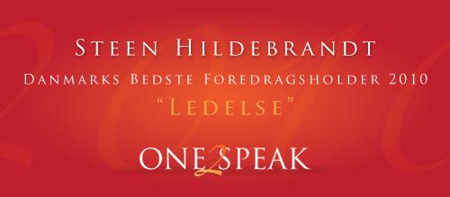 """Danmarks Bedste Foredragsholder 2010 """"Ledelse"""""""