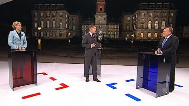TV-duel imellem Lars Lykke go Helle Thorning