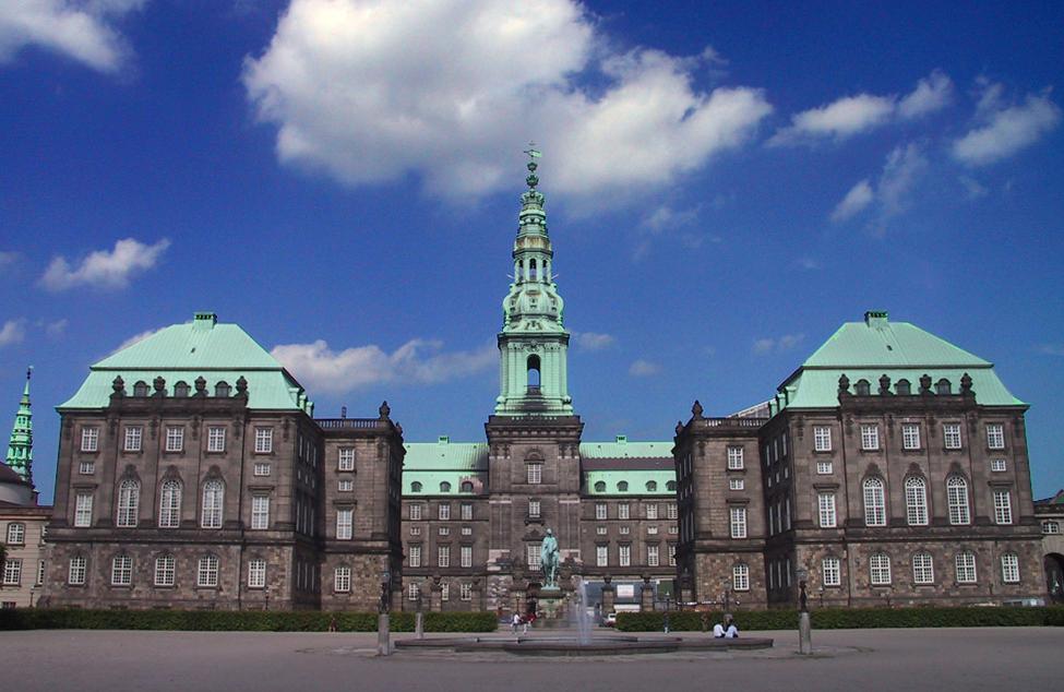 Christiansborg, Folketinget, Danmark